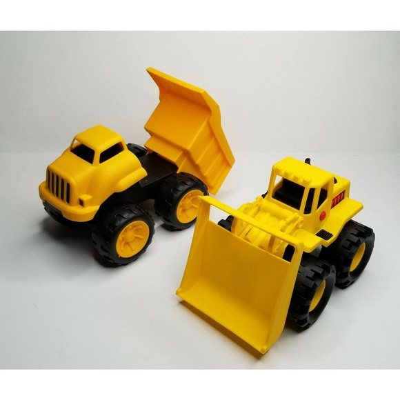 Caterpillar CAT Crew Dump Truck & Front Loader Toy
